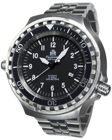 dive watches for tauchmeister t0286m automatic diver 100 atm