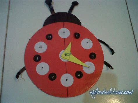 membuat jam dinding tugas sekolah dari styrofoam membuat jam my fourleafclover
