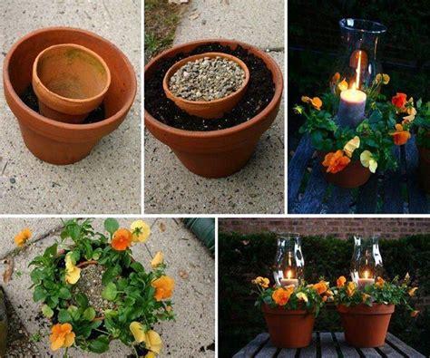 homemade flower pots wonderful diy clay pot flower people