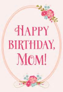 floral birthday for mom free printable birthday card
