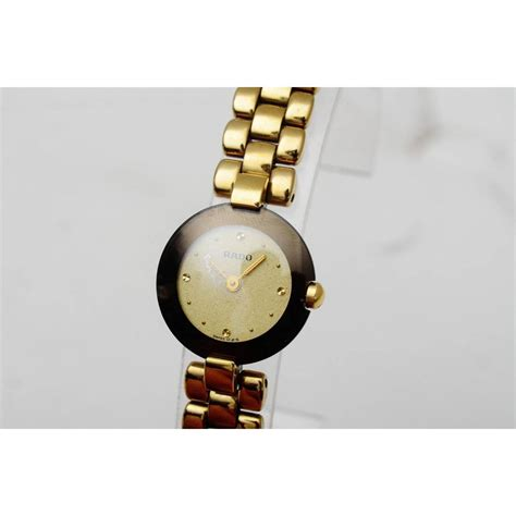 Rado Rd6108 Glwh Gold Color rado la coupole gold plated quartz gold plated ref a66715 instant luxe