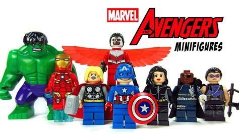 Lego Bootleg Ironman Minifigure 03 lego assemble knockoff minifigures marvel superheroes w iron captain