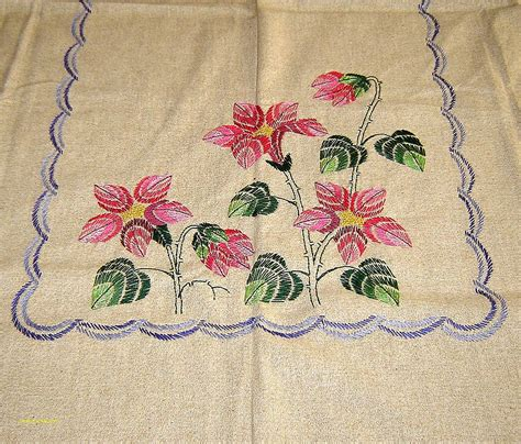 embroidery design for table cloth table cover embroidery designs