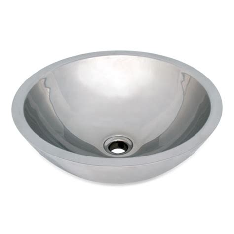 stainless steel vessel sinks bathroom ticor s2090 vessel stainless steel bathroom sink