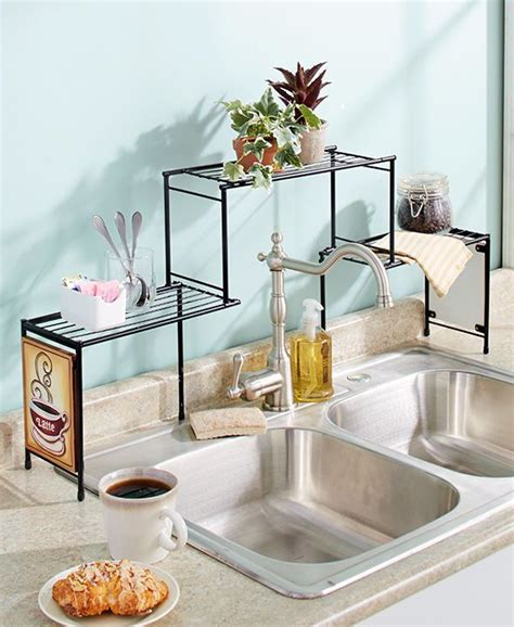 the kitchen sink shelf ideas the sink rack coffee kitchen decor shelf space saver