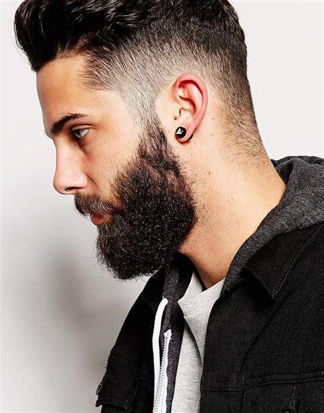 asos geo tribal earrings in black for lyst