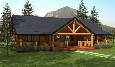 cabin style houses ranch style homes hickory log home floor plans home ranch style