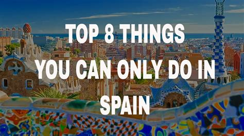 8 Things You Can Get For Free by Top 8 Things You Can Only Do In Spain The Blueberry