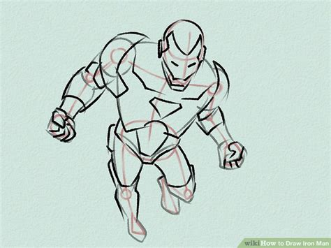How To Draw Iron 3