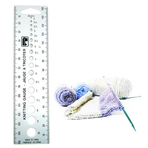 knitting pattern ruler new knitting gauge knit needle sizer ruler measure tool us