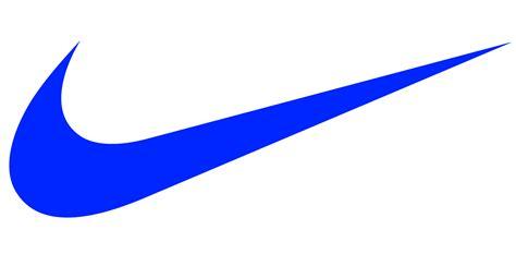 blue logo nike logos brands and logotypes