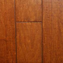 Millstead Flooring Review by Millstead Scraped Maple Nutmeg 3 8 In Thick X 4 3 4