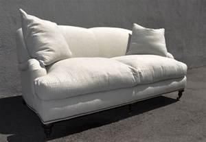 corrine roll arm striped sofa mecox gardens