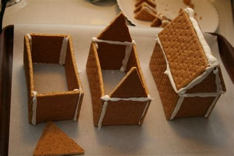 diy gingerbread house homemade holiday easy diy graham cracker gingerbread houses