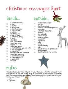 17 best ideas about christmas scavenger hunt on pinterest