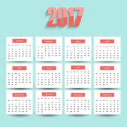 calendario 2017 da stare jpg 2017 del calendario scaricare vettori gratis