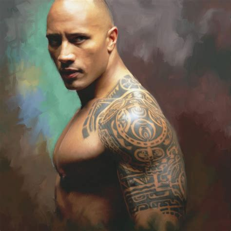 dwayne johnson tattoo making schwarze gro 223 e t 228 towierung dwayne johnson gleichen arm 3d