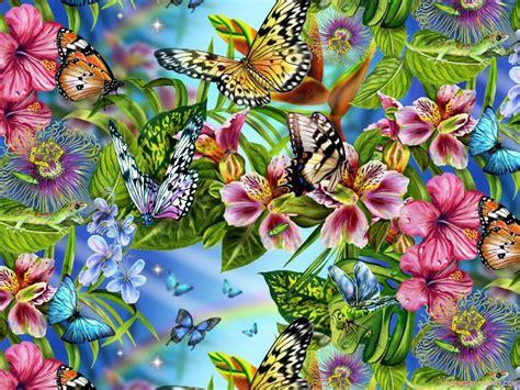 imagenes flores mariposas fondos de mariposas con movimiento imagui