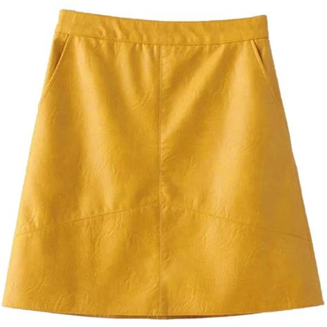 the 25 best ideas about leather a line skirt on