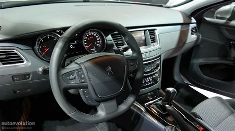 peugeot 508 interior 2012 peugeot 508 sedan sw and rxh updated for the motor