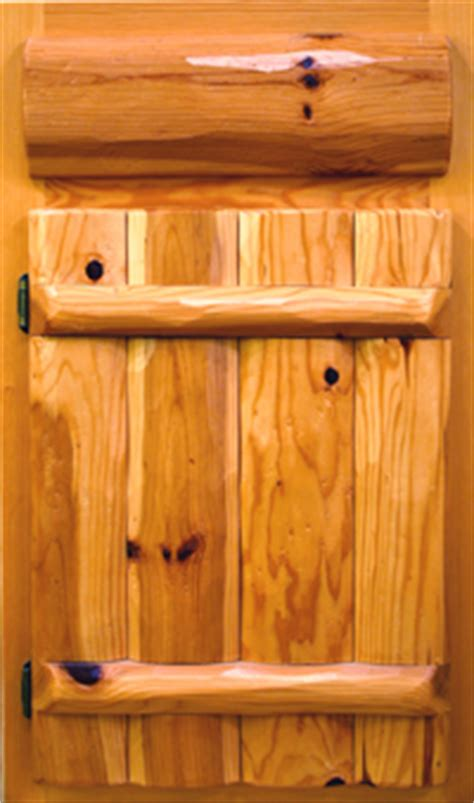 knotty pine kitchen cabinet doors timber country cabinetry log style doors