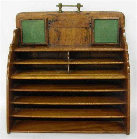 Vintage Desk Organizer by Antique Desk Organizer Antique Furniture