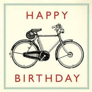 bicycle birthday card dotcomgiftshop