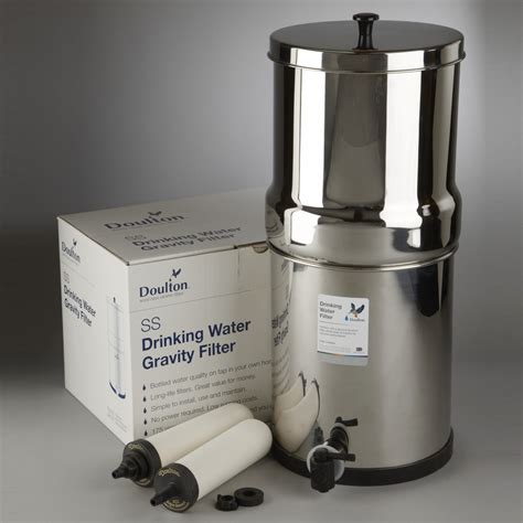 doulton  countertop water filter system