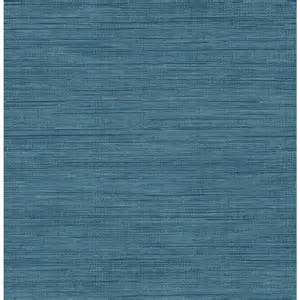 home depot brewster brewster sea grass blue faux grasscloth wallpaper fd23286