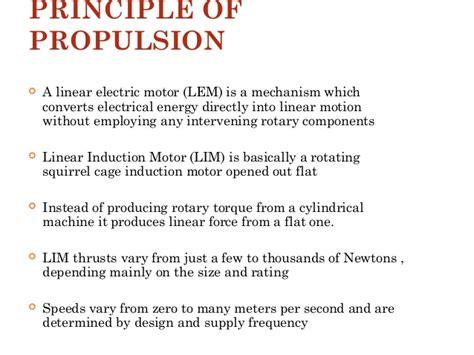linear induction motor in maglev trains maglev trains