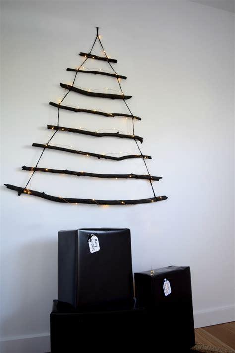 17 space saving christmas trees alternative christmas