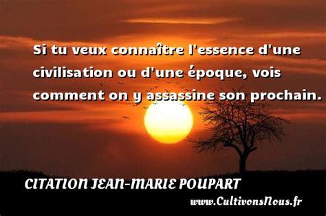 libro civilisation comment nous citation jean marie poupart cultivons nous