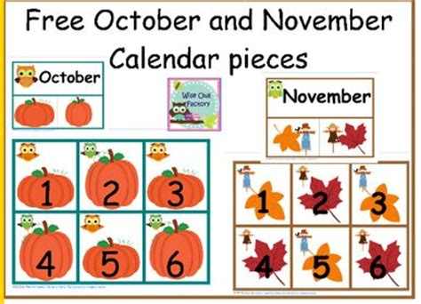 printable owl calendar numbers free printable calendar numbers for pocket chart pocket