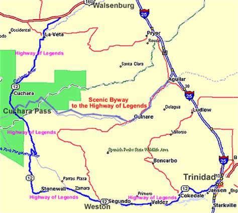 cuchara colorado map maps links 187 la veta cuchara