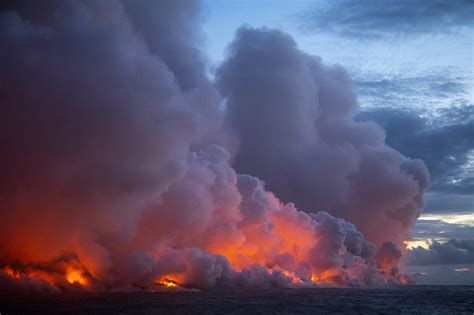 los angeles to hawaii boat time the lava continues to flow from kilauea volcano creating