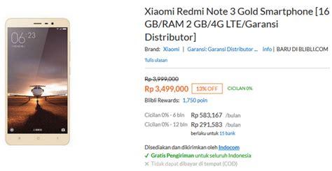 Berapa Hp Xiaomi Redmi 3 Di Indonesia ini spek dan harga xiaomi redmi note 3 4g di indonesia jeripurba