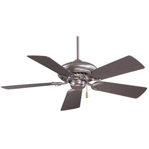 44 Inch Ceiling Fan With Light 44 Inch Ceiling Fan With Five Blades F563 Bs Destination Lighting