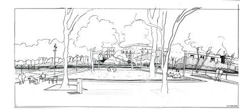 sketchbook park 34 bruel delmar stjp sketch from the terrace toward the