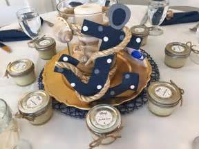 nautical baby shower centerpieces ideas ahoy it s a boy baby shower project nursery