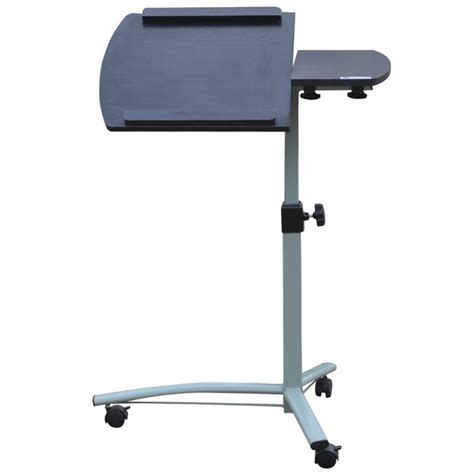 laptop desk on wheels homegear portable rolling laptop desk table stand on wheels ebay