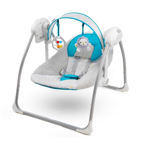 rocker bouncer or swing kinderkraft nani blue baby bouncing chair swing seat