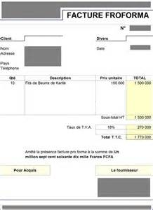 sle proforma invoice excel template eregulations mali