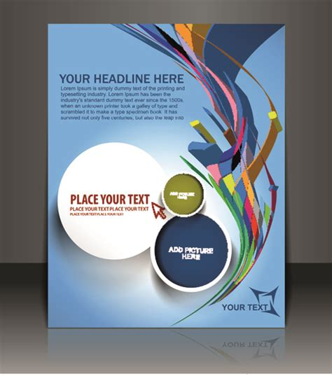 poster layout design vector free download elements of poster and magazine cover design vector 02