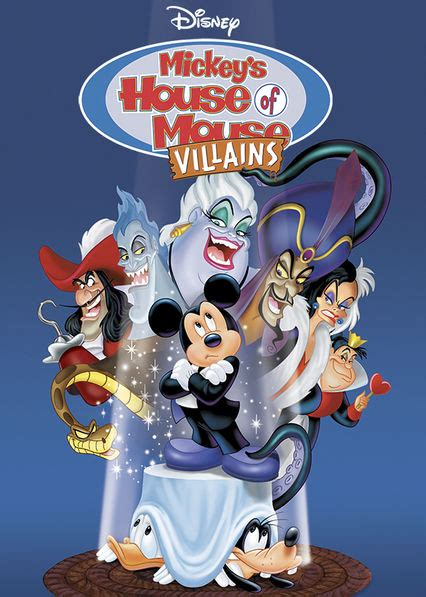 is house on netflix is mickey s house of villains available to watch on