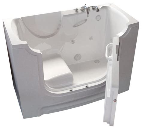 handicap accessible bathtubs meditub 30x60 right drain white whirlpool jetted