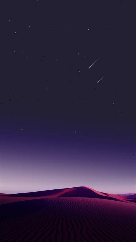 desert sky shooting stars iphone wallpaper iphone wallpapers