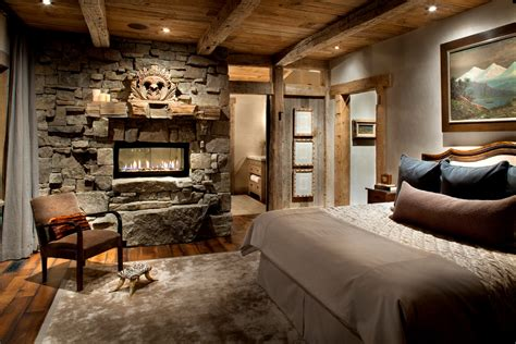 Bedroom Paint Ideas Rustic 65 Cozy Rustic Bedroom Design Ideas Digsdigs