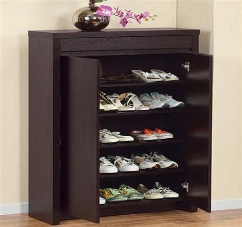 desain lemari sepatu minimalis 13 rak sepatu minimalis unik dan praktis rumah impian