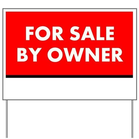 Custom Garage Sale Signs by For Sale By Owner Custom Yard Sign By Thebusinessstore