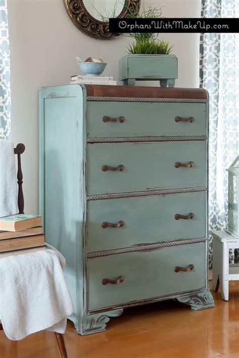 waterfall dresser ascp duck egg blue chalk paint painted pieces especially furniture